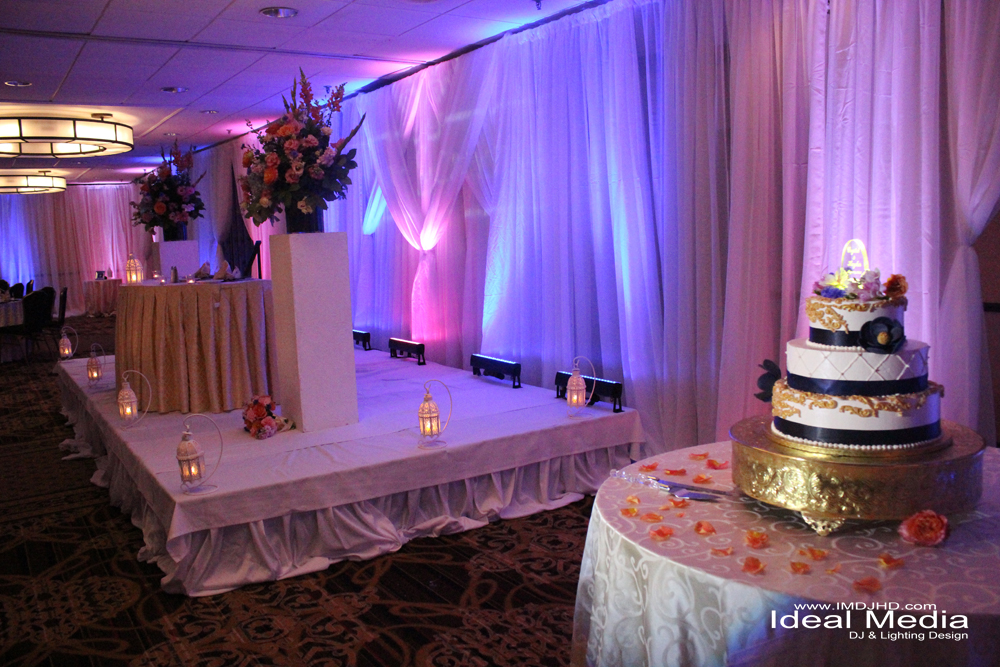 Uplighting For Wedding Receptions Crowne Plaza Ideal Media Ideal